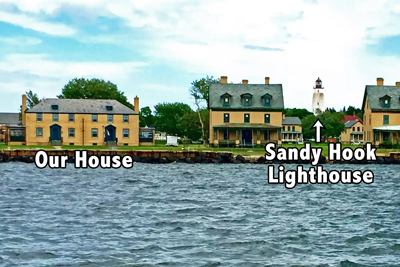 Excellent Sandy Hook Fort Hancock New Jersey Vacation Home Rental Home Remodeling Inspirations Genioncuboardxyz